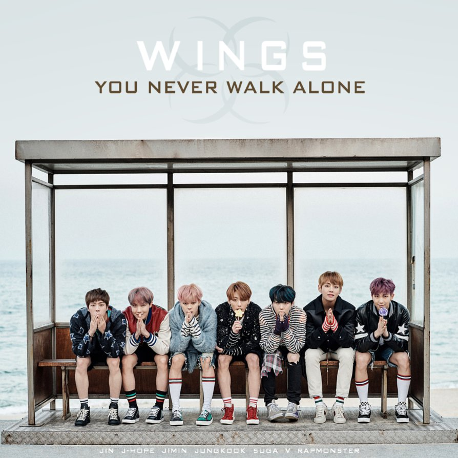 BTS You Never Walk Alone by TsukinoFleur 894x894