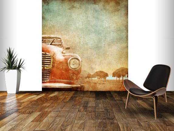 Vintage Car Wall Mural Vintage Car Wallpaper 573x430