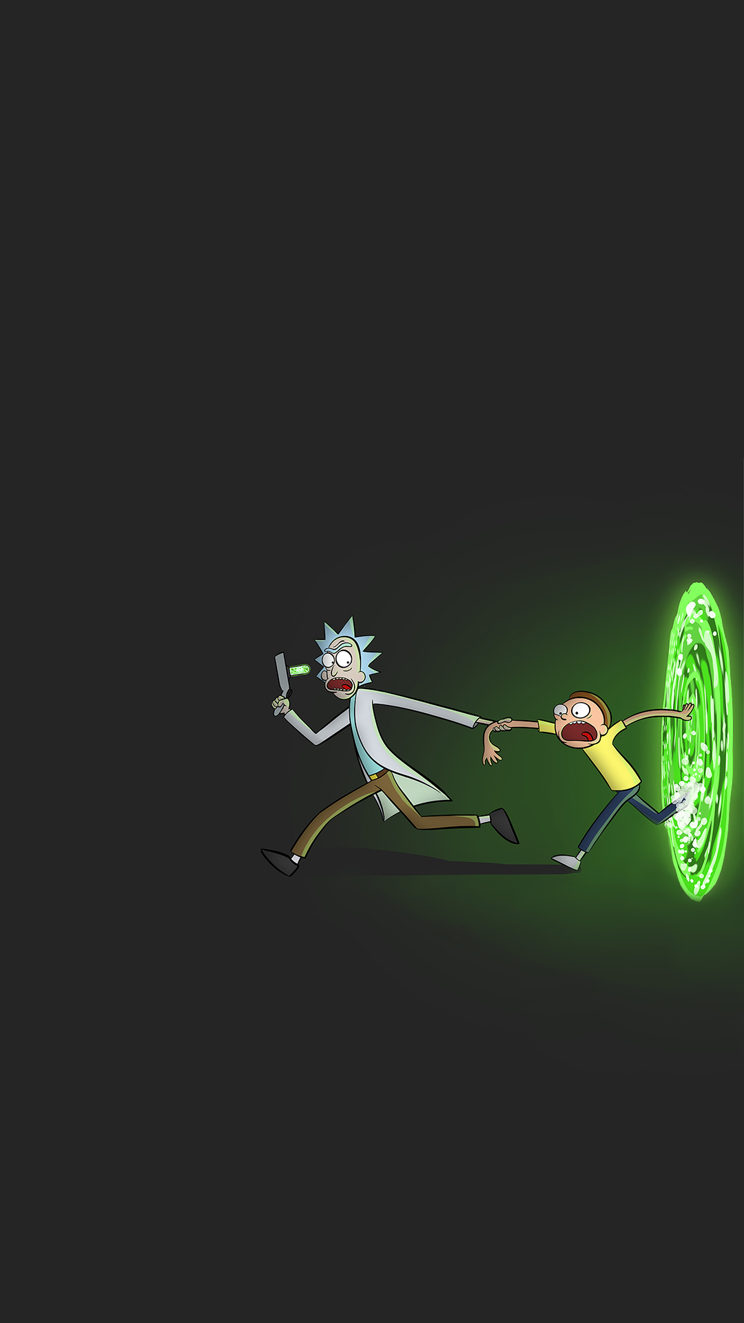 Rick and Morty iPhone Wallpaper   3D iPhone Wallpaper 1080x1920