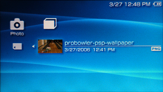 How do I change the background wallpaper on my Sony PSP Ask Dave 532x300