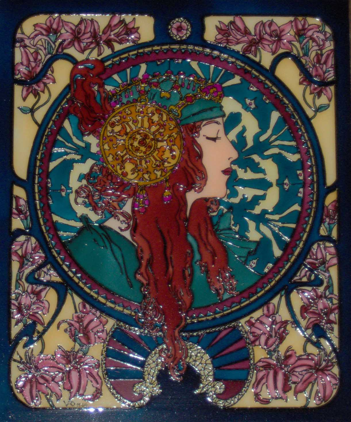 Art Nouveau 04 by mohamed ufo 1221x1466