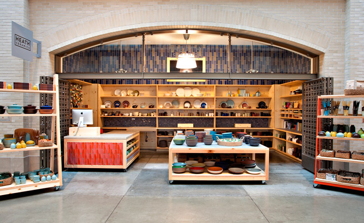 the new San Francisco Heath Ceramics store Photograph by Mariko Reed 716x439