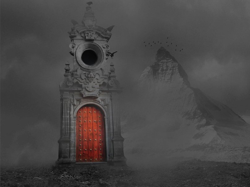 gothic horror gate wallpaper   ForWallpapercom 808x606