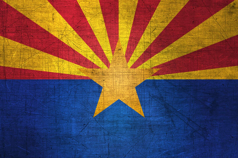 Arizonan Flag Metal Flag of Arizona   Download it for 1500x1000