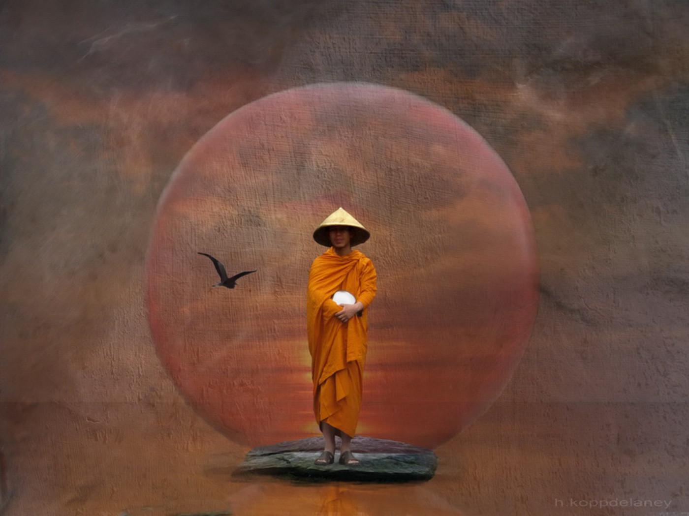 Zen iphone wallpaper tumblr - Zen Quotes Wallpaper Zen Wallpaper The Waiting Monk