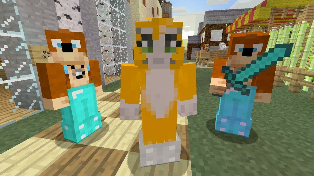 Stampy and Lee HD wallpaper stampylongheadorg Minecraft 1024x576