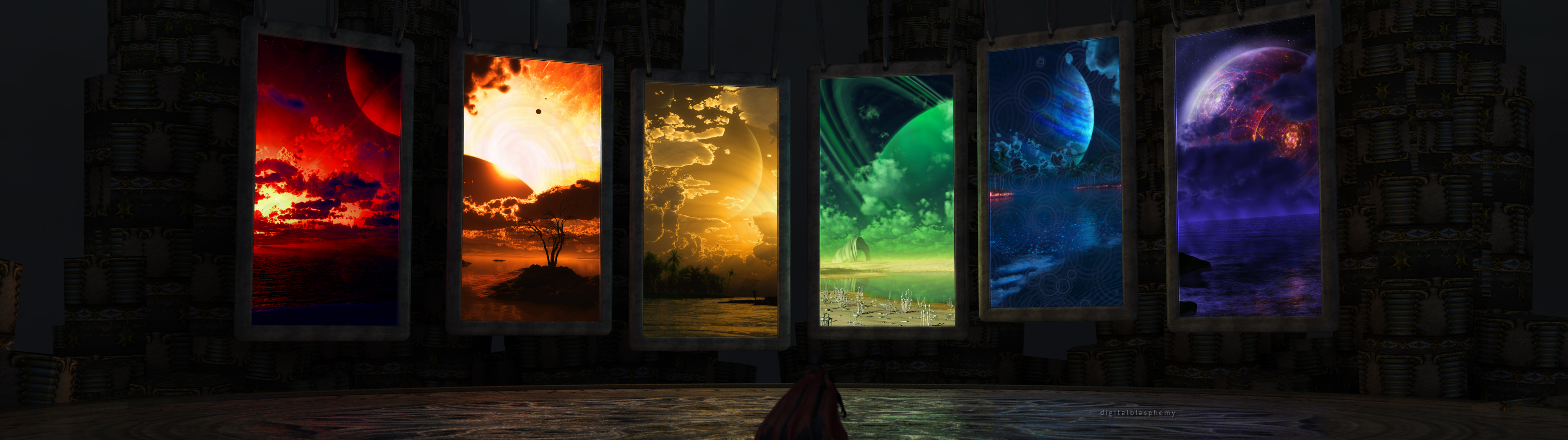 Sci Fi Computer Wallpapers Desktop Backgrounds 3840x1080 ID 3840x1080