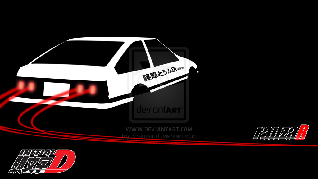Initial D Wallpaper by xRanzar 1024x576