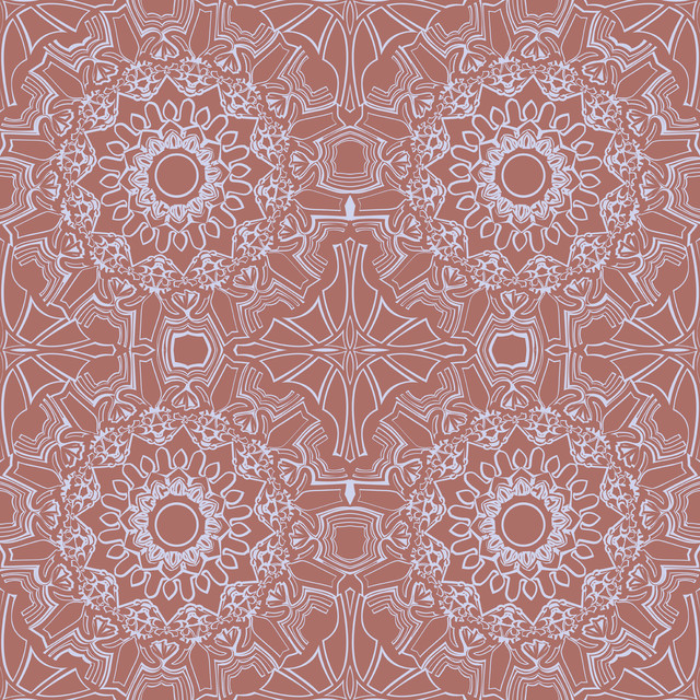 MEDALLION Self Adhesive Removable Wallpaper Berry 205 in X 11 Yds 640x640