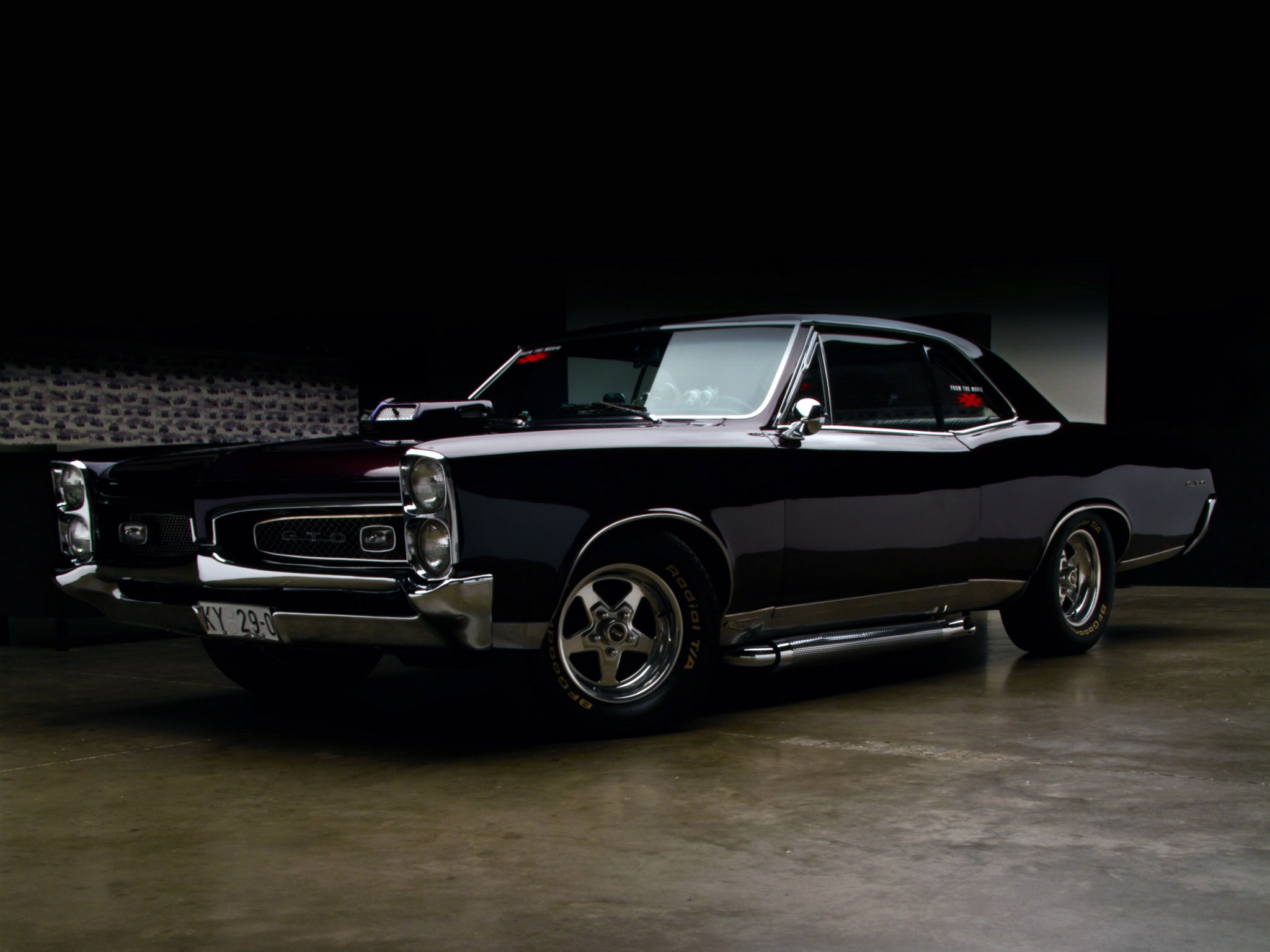 1967 Pontiac Tempest GTO xXx hot rod rods muscle classic f wallpaper 2048x1536