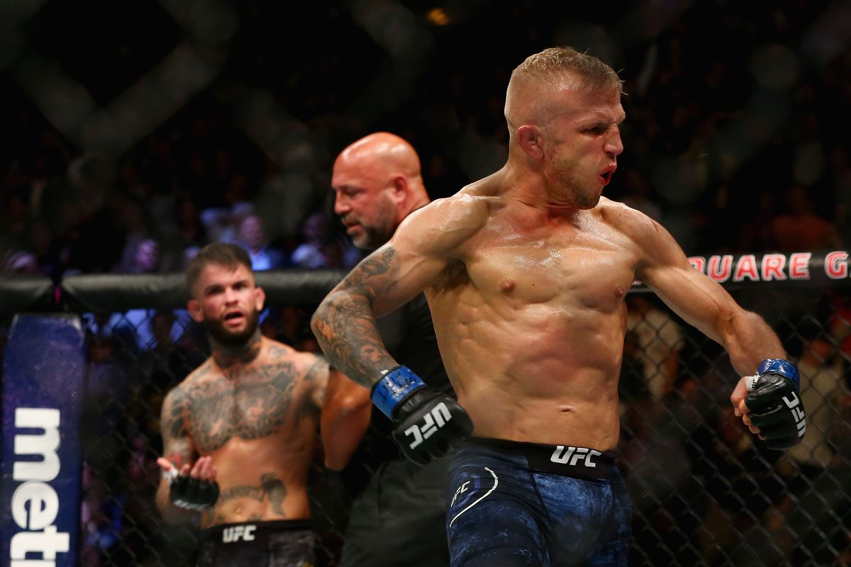 TJ Dillashaw happy to be the one ruining Cody Garbrandts UFC 1200x800