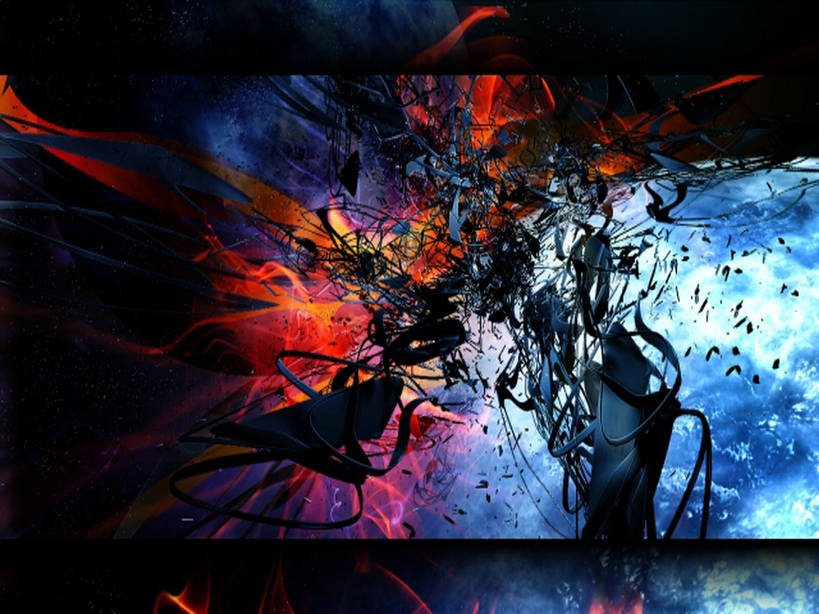 Abstract 3D Wallpapers Desktop Backgrounds Computer 1600x1200