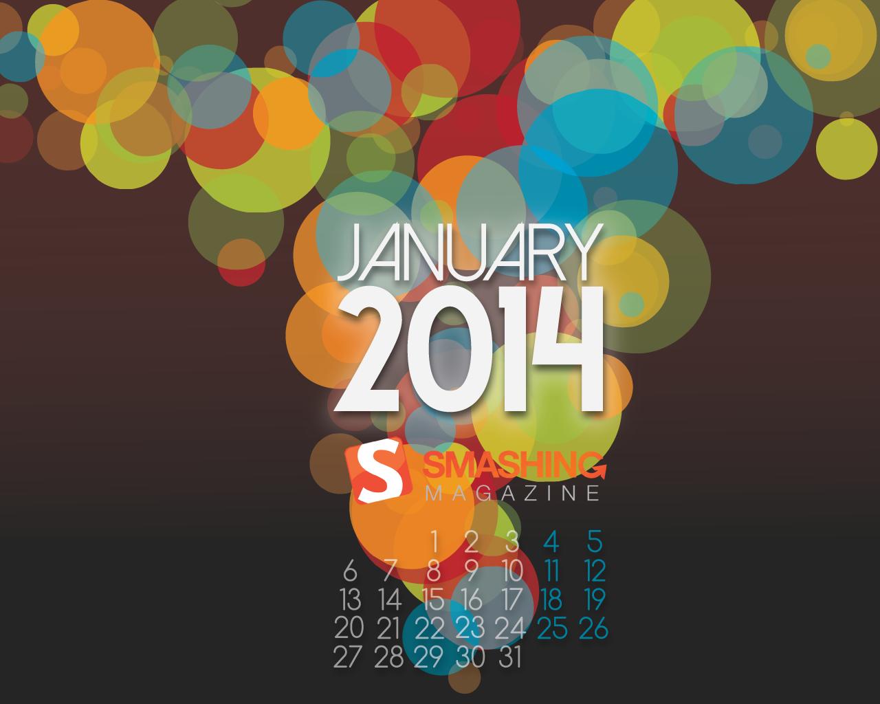 Desktop Wallpaper Calendars January 2014 Smashing Magazine 1280x1024