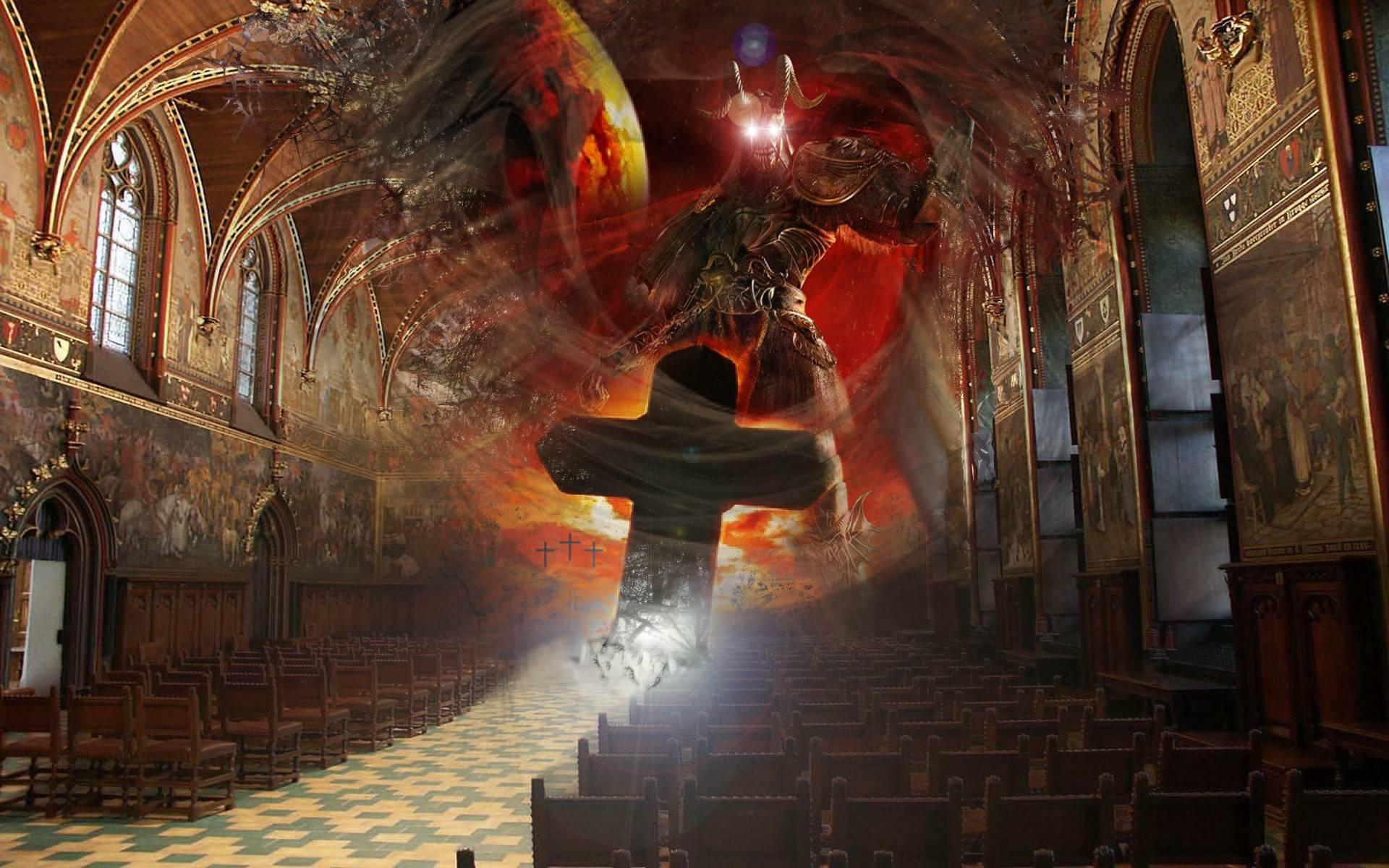 Church Of Satan Wallpaper Church satan 19201200 1920x1200