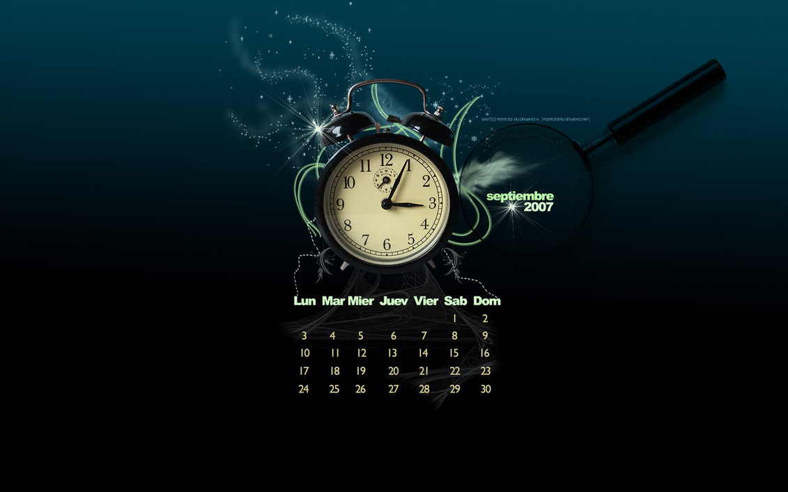 Calendar Clock Wallpaper : Free wallpaper clocks and calendars wallpapersafari