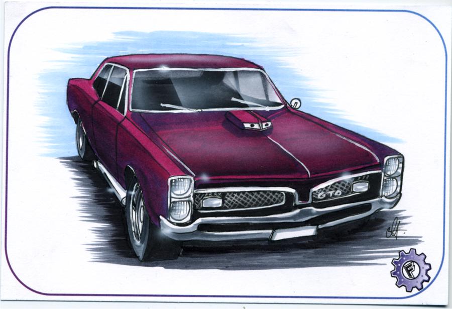 67 Pontiac Gto httpchrisfurgusondeviantartcomart67 PONTIAC GTO 900x615