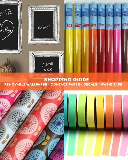 Decals Removable Wallpaper Washi Tape Contact Paper Apartment 540x679