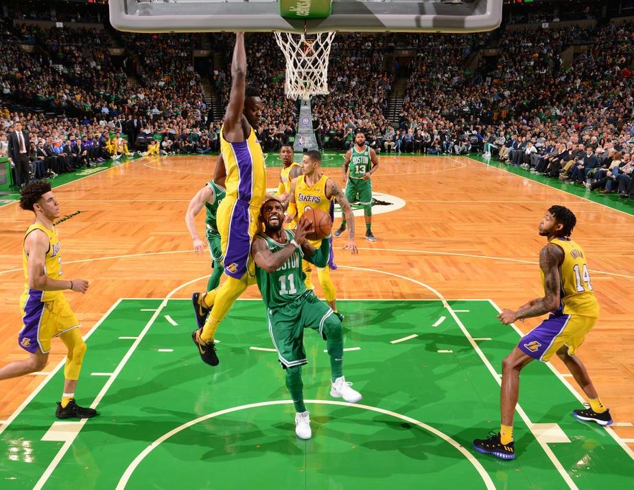 Photos Celtics vs Lakers   Nov 8 2017 Boston Celtics 924x714