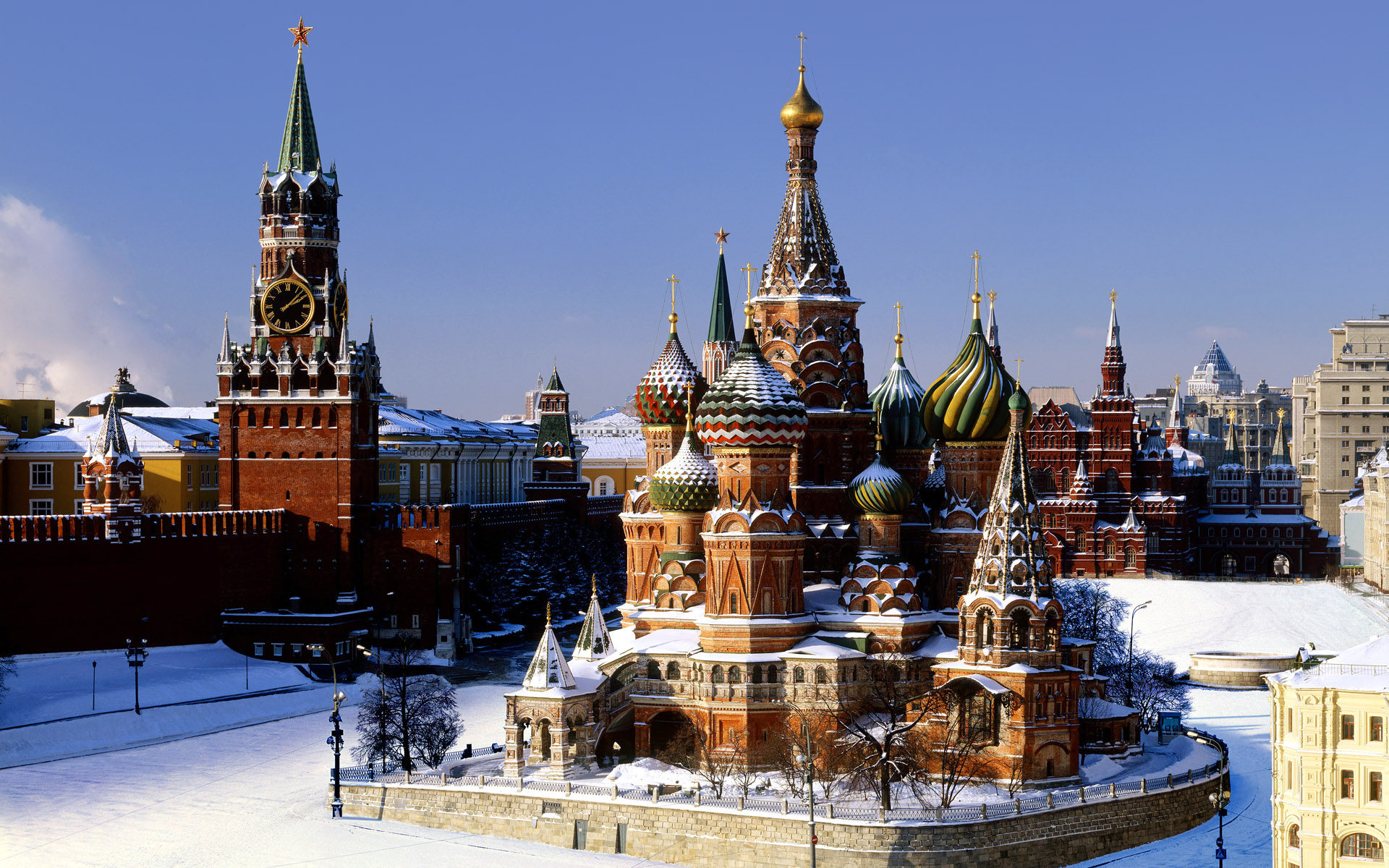 Red Square Russia Wallpapers HD Wallpapers 1920x1200