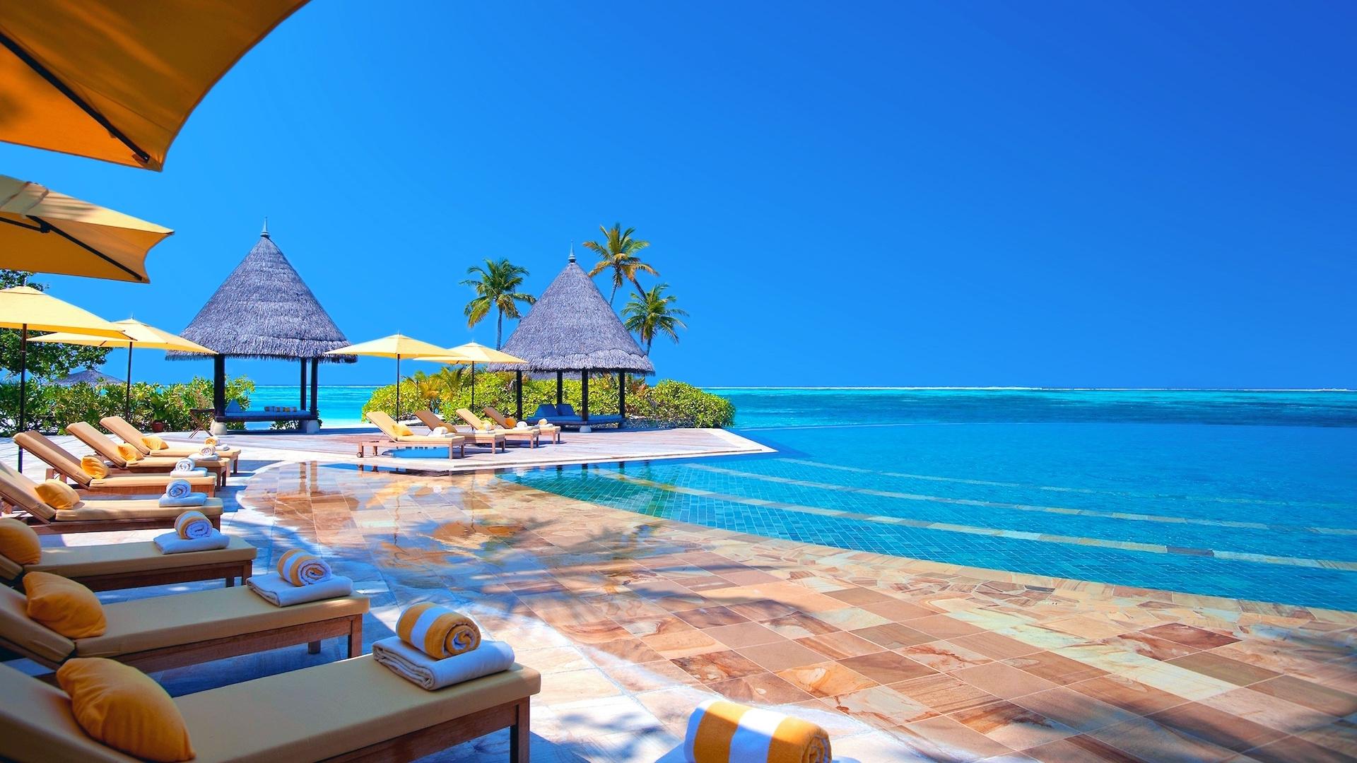 Exotic Resort Wallpapers Download 1920x1080