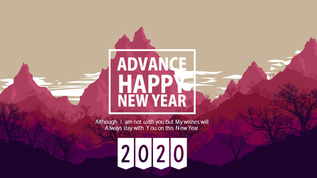 25 Advance Happy New Year 2020 Quotes Wishes with Images   Happy 1024x576