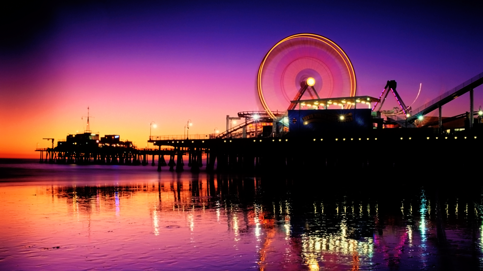 Santa Monica Wallpaper - WallpaperSafari