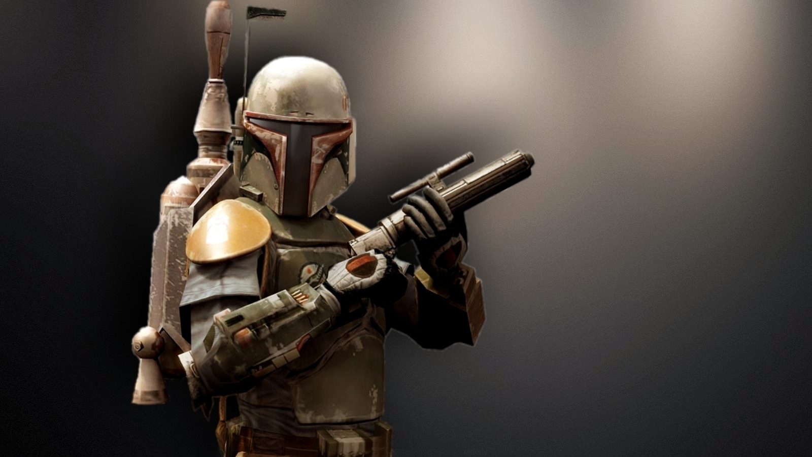 Boba Fett Wallpaper Star Wars by beautyrenderblogspotcom 1600x900