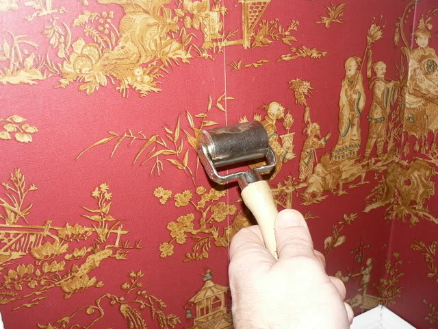 How to repair split wallpaper seams   Paint Talk   Professional 640x480