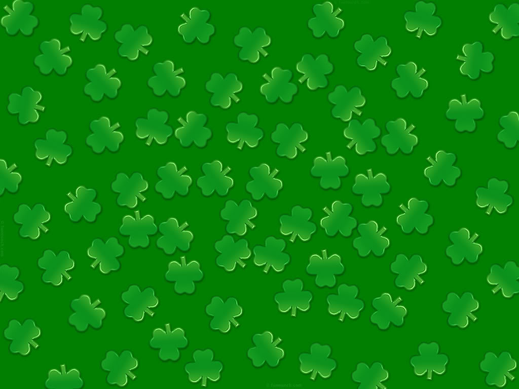Irish Clover Background 4 leaf clover 1024x768
