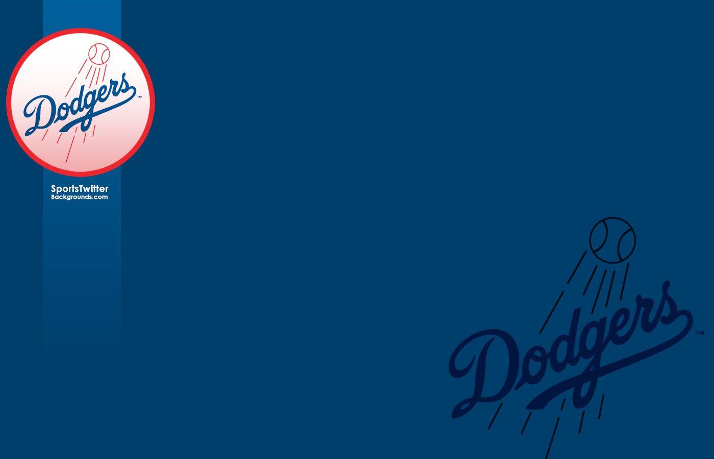 Los Angeles Dodger Logo Wallpaper Baseball Los Angeles Dodgers 1400x900