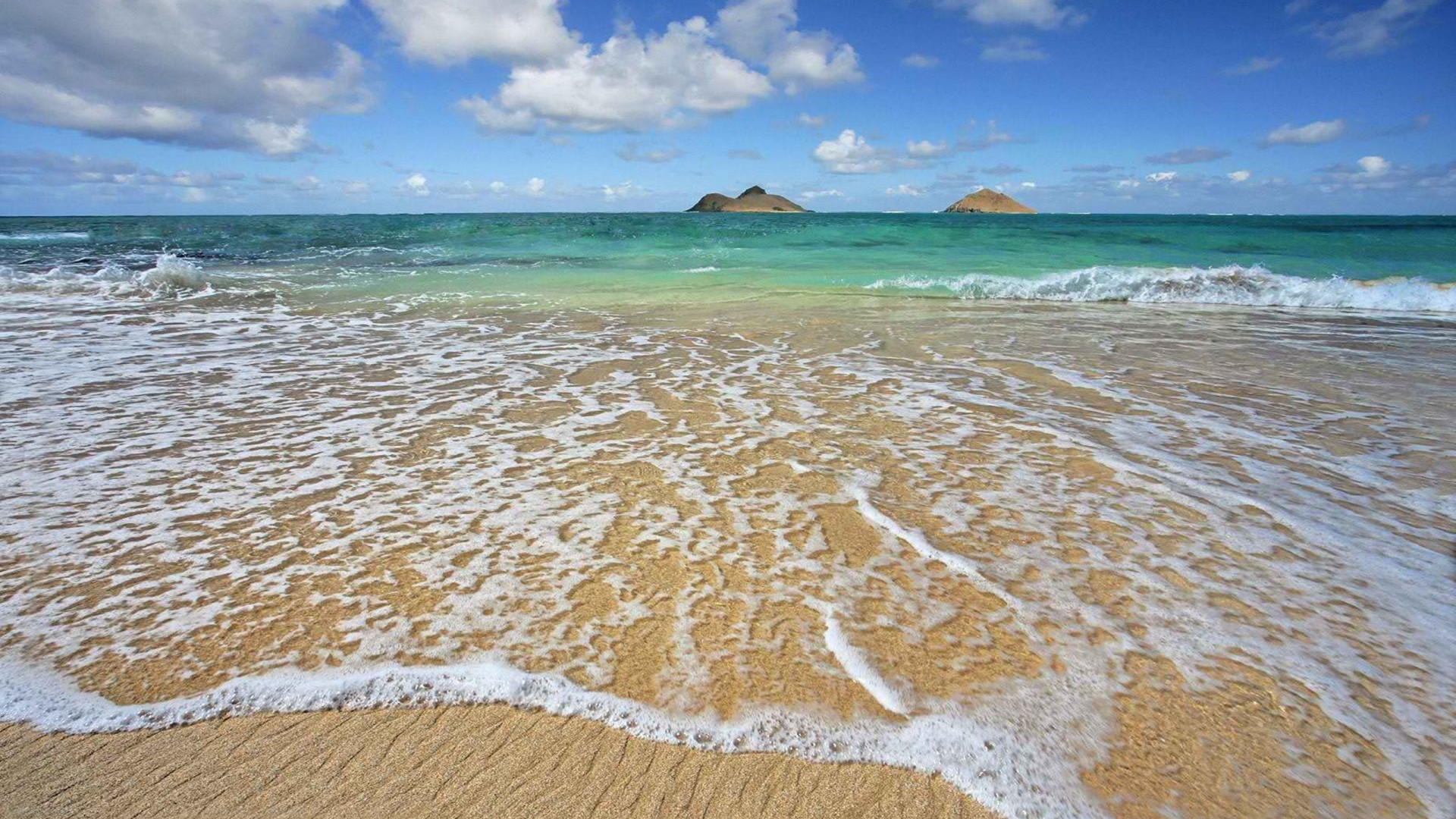 Hawaii Beach Waves Honeymoon Wallpaper Wallpapers13com 1920x1080