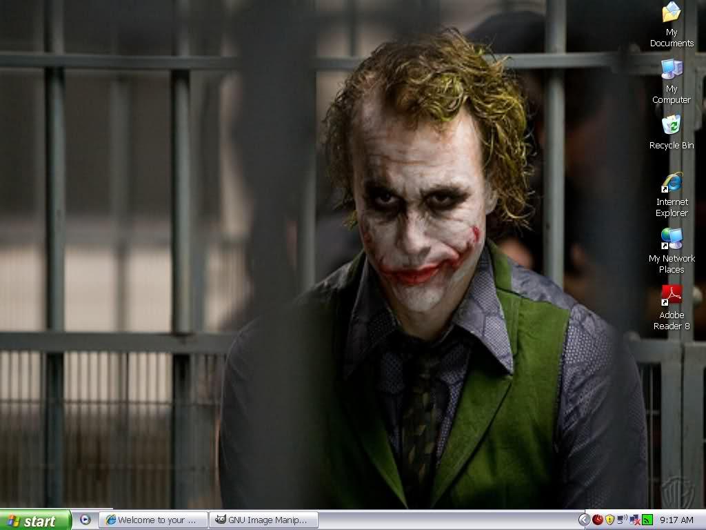 Joker Heath Ledger Wallpaper 1024x768
