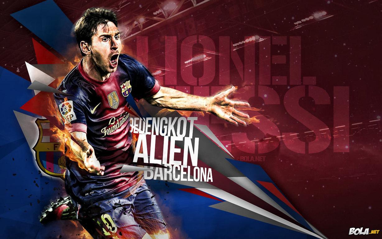 Lionel Messi Barcelona Wallpaper HD 2013   2014 Football Wallpaper 1228x768