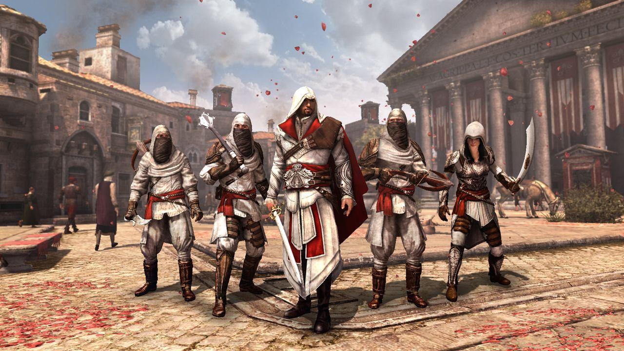 assassins creed brotherhood hd wallpaperhtml This Assassins Creed 1280x720