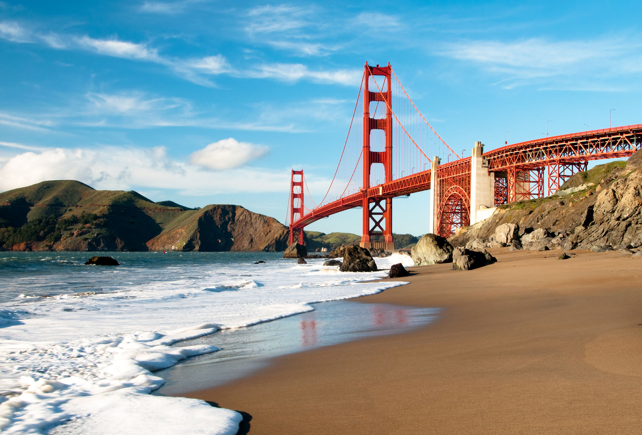 55 San Francisco Beach Wallpaper On Wallpapersafari