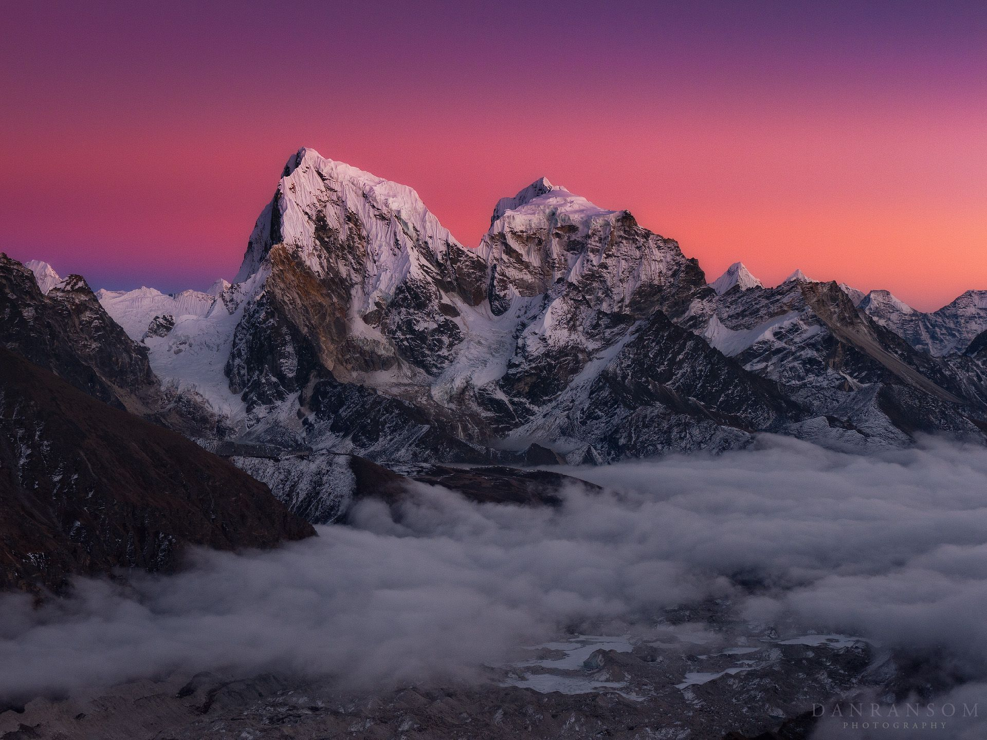 Himalayan Alpenglow Prettiest Peaks Iphone 6 wallpaper Retina 1920x1440