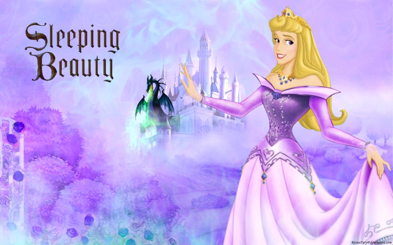 Aurora in purple   Sleeping Beauty Wallpaper 24726557 1440x900