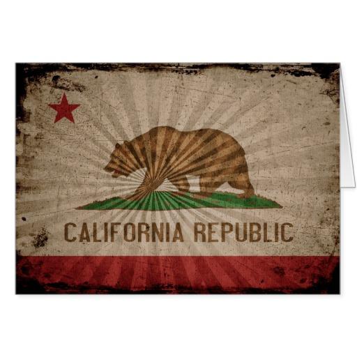 California Flag Grunge Cool grunge california flag cards california 512x512