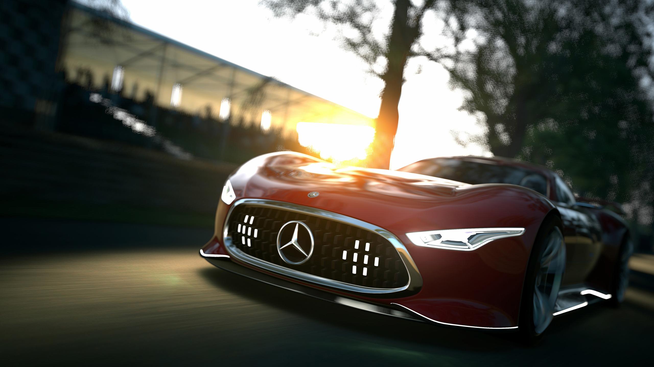 Mercedes Benz AMG Vision Gran Turismo Concept Wallpaper 2560x1440
