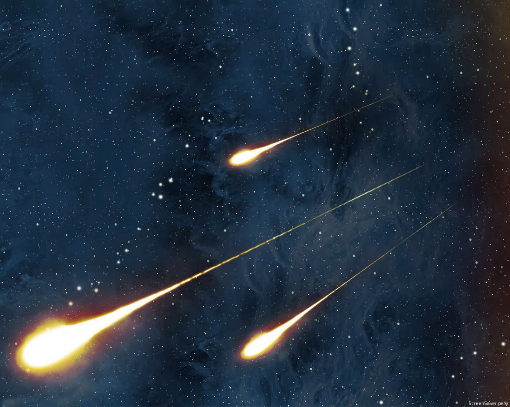 Shooting Stars Background   Shooting Stars Wallpaper for Desktop 1024x819