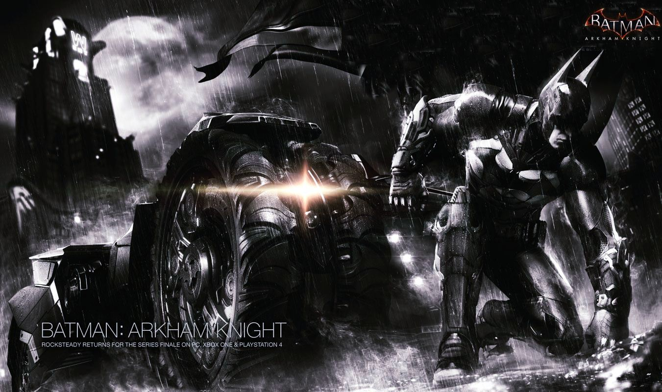... , 2015 By Stephen Comments Off on 2014 Batman Arkham Knight Wallpaper