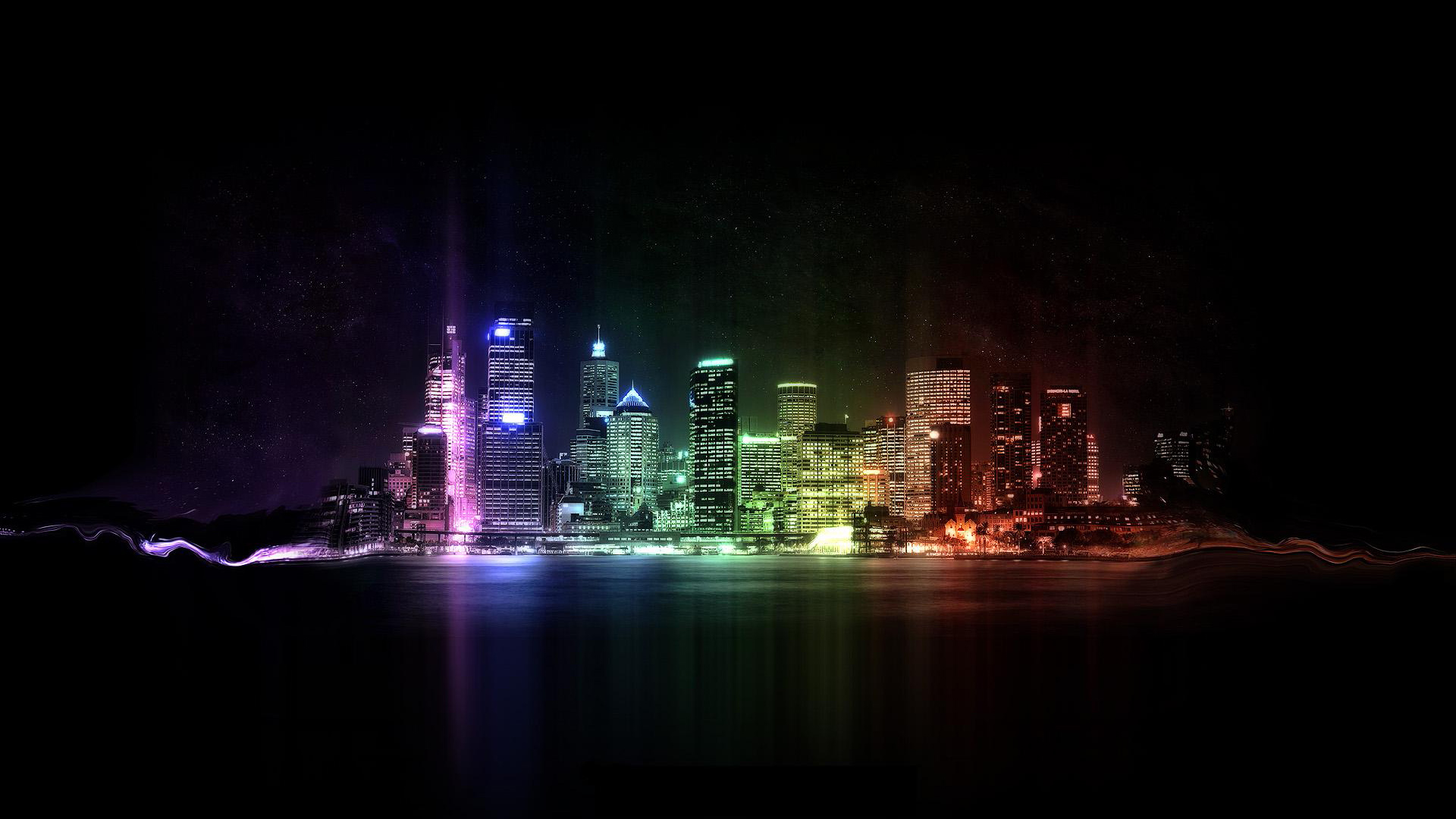 lights city wallpapers walls resolutions 1920x1080 1920x1080