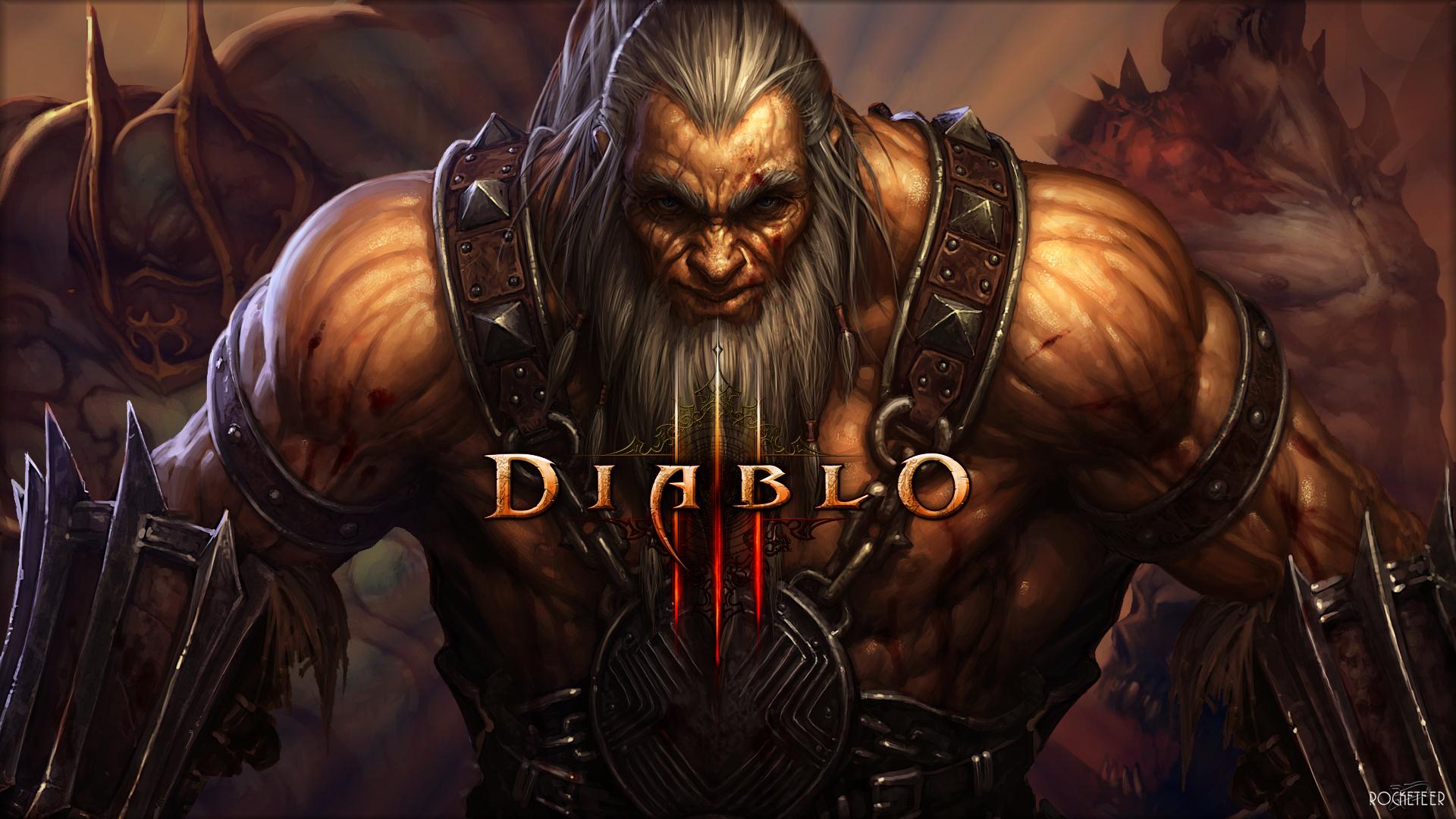 Diablo 3 Barbar 1920x1080