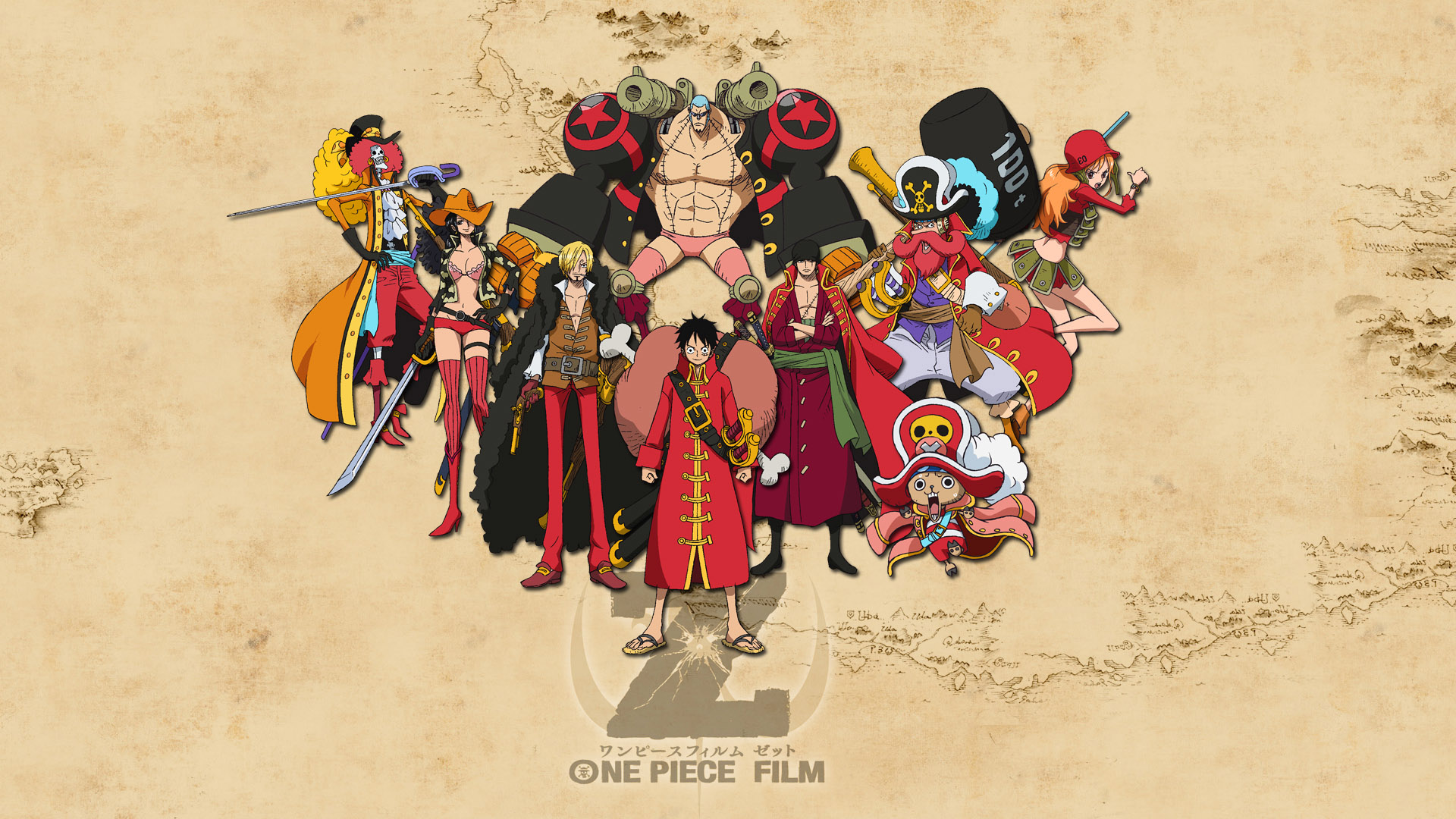One Piece Z Wallpaper HD wallpapers55com   Best Wallpapers for PCs 1920x1080