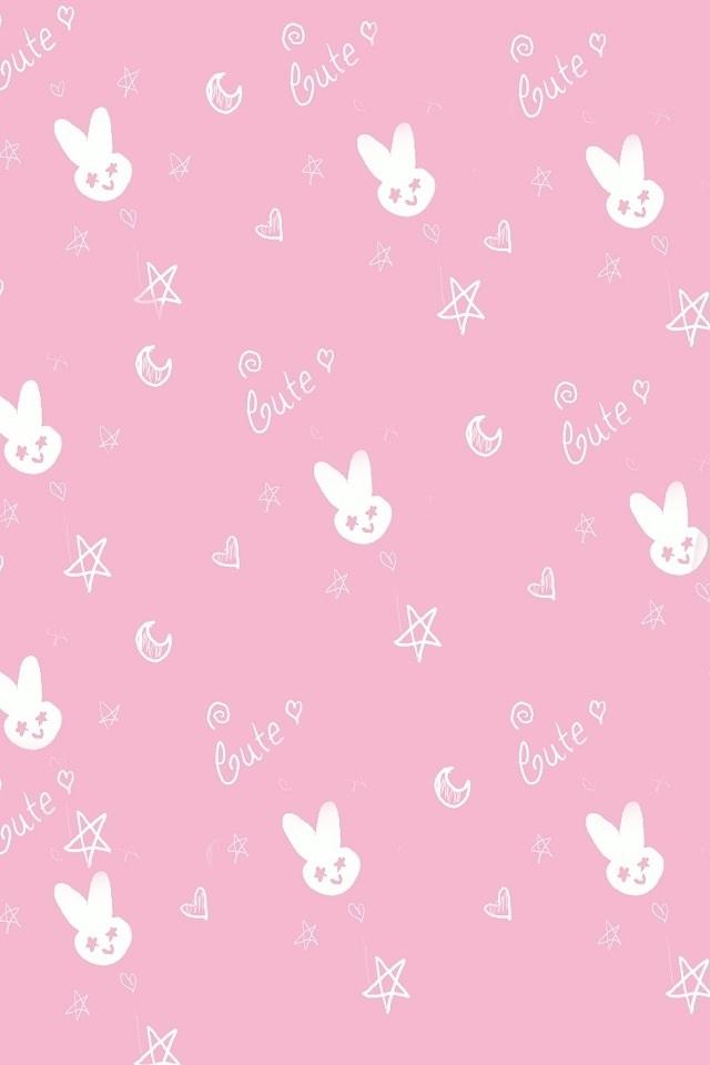 46 Pink Bunny Wallpaper On Wallpapersafari
