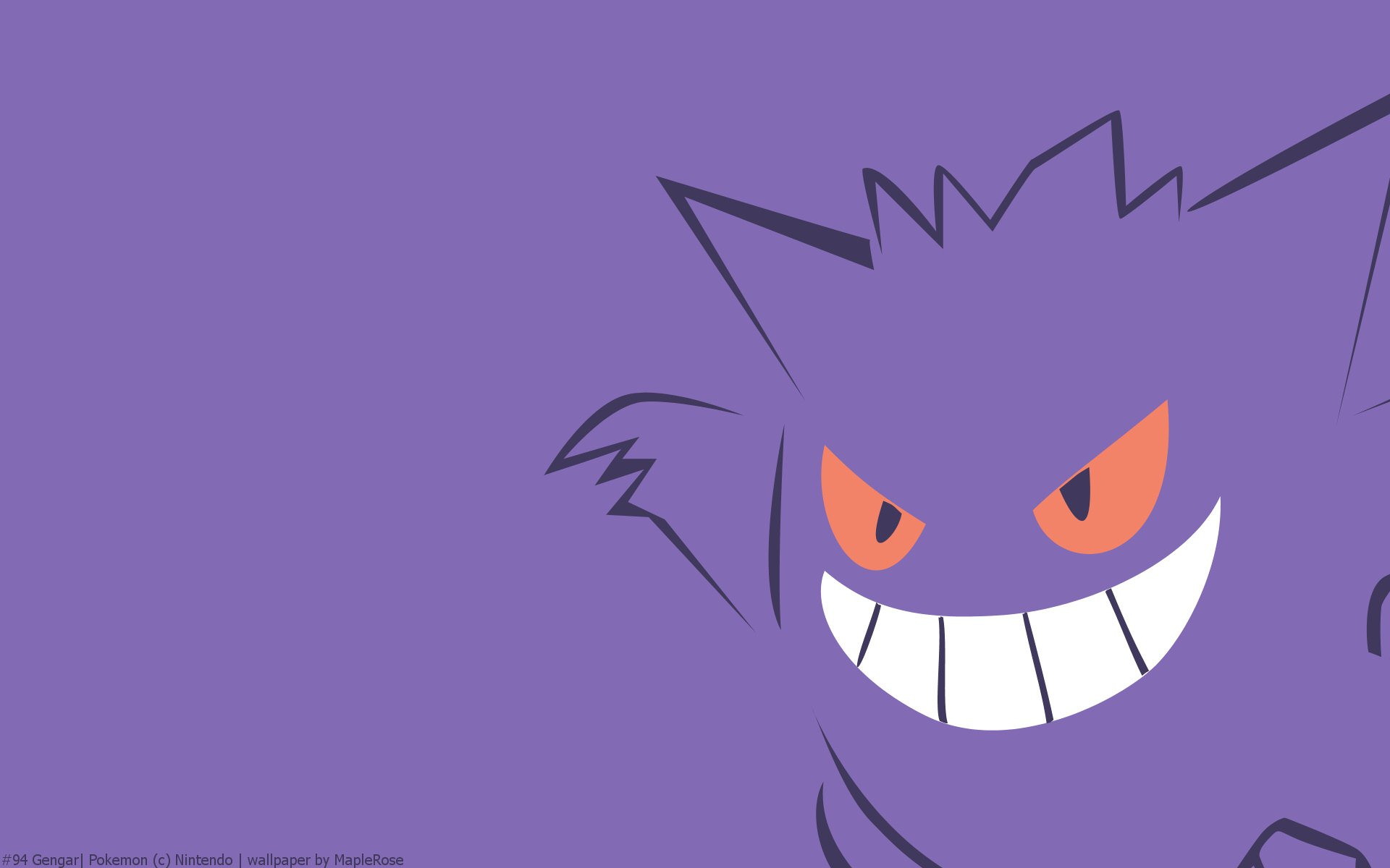 Gengar Wallpaper HD - WallpaperSafari