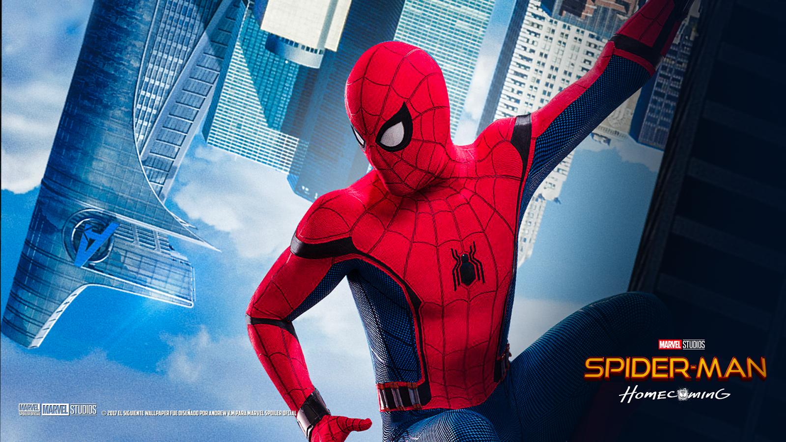 Wallpaper Homecoming: Spiderman Homecoming Wallpaper