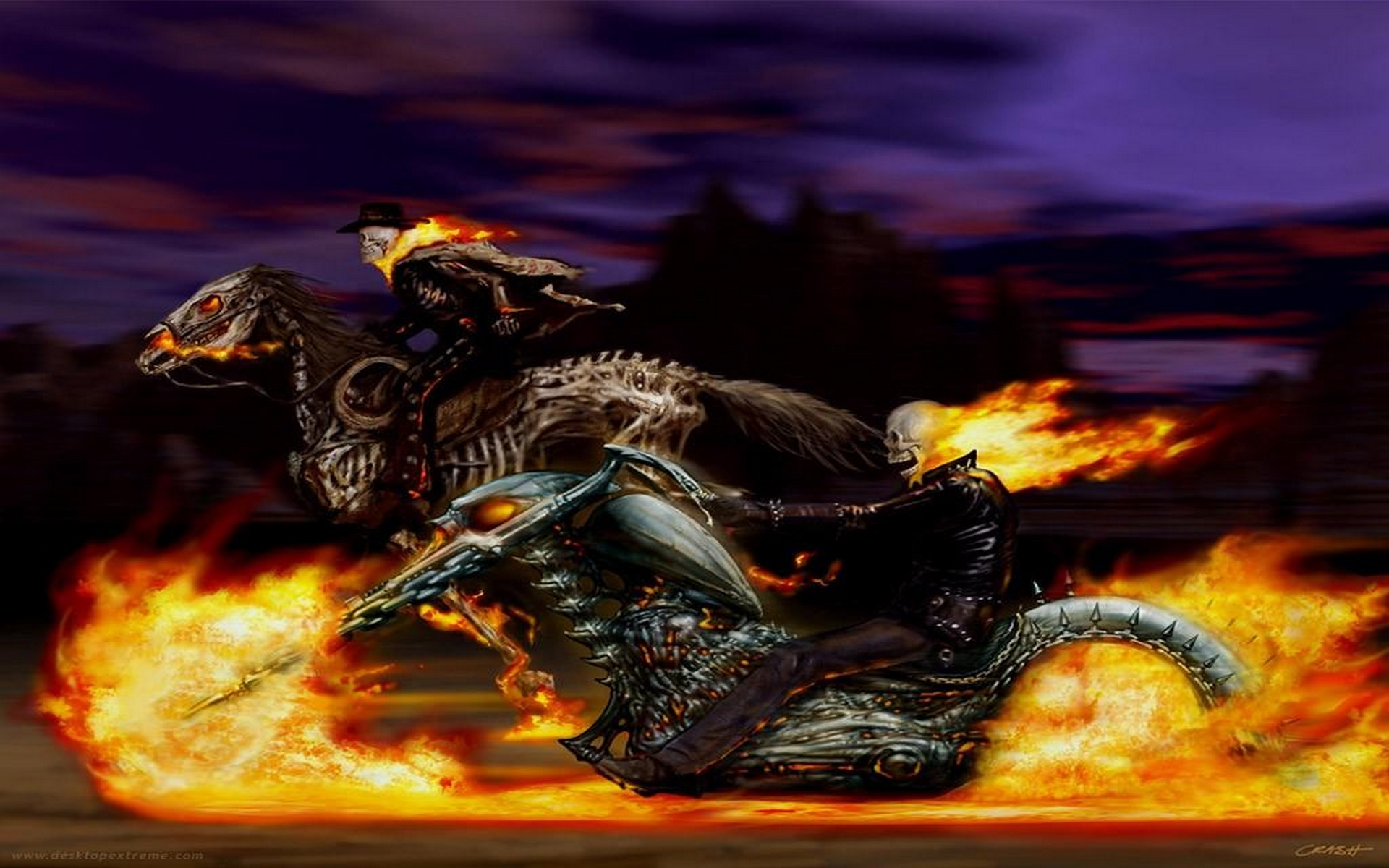 1920x1200px ghost rider desktop wallpaper - wallpapersafari