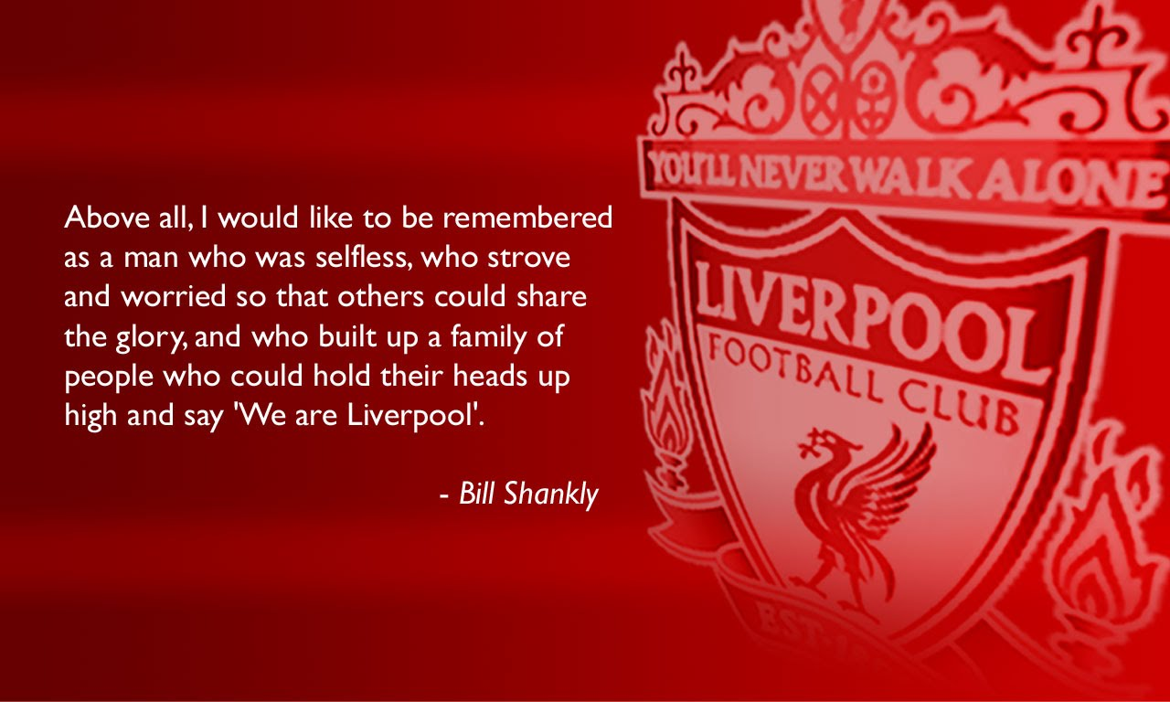 Wallpaper Bill Shankly Quote [1280x768
