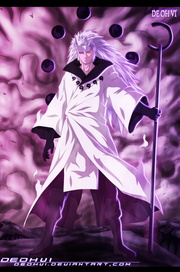 Download Naruto 663 Madara Sage Of Six Paths Coloring By Deohvi